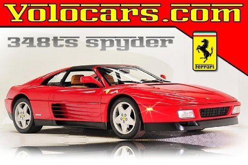 1990 Ferrari 348 Ts Spyder