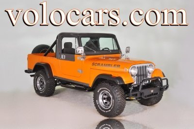 1983 Jeep Scambler Cj 8