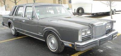 1981 Lincoln Signature Series