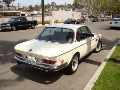 1973 BMW 3.0 Cs Coupe