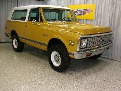 1972 Chevrolet K 5 Blazer