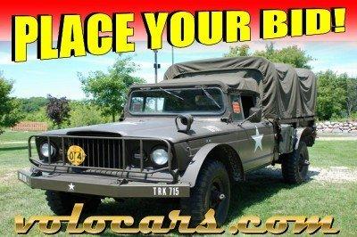 1967 Kaiser 1 1/4 Ton  Military Jeep