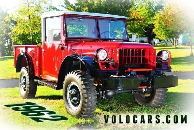 1962 Dodge M 37 Power Wagon