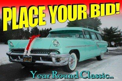 1955 Mercury Monterey 9 Passenger Wagon