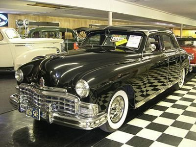 1949  Manhatten 4 Dr Sedan