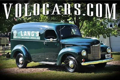 1947 International Kb2 Panel Truck