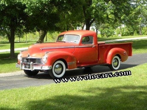 1946 Hudson 3/4 Cab