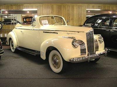 1941 Packard 110 Convertible Deluxe