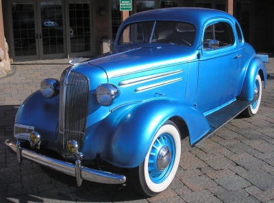 1936 Chevrolet 5 Window