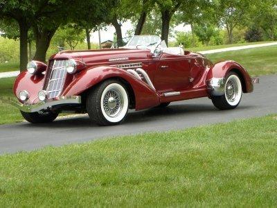 1936 Auburn Boattail