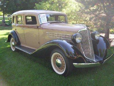 1935 Graham 4 Dr Sedan