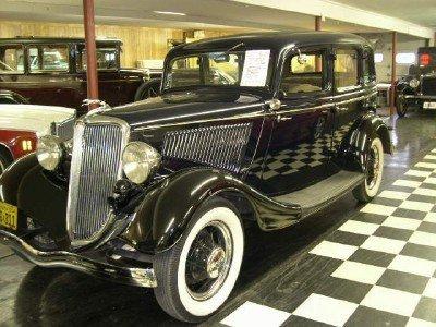 1934 Ford Model 40 4 Dr Sedan