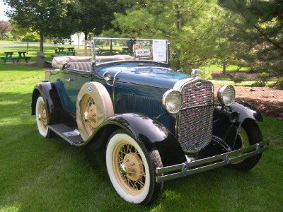 1931 Ford A Deluxe 6 Wheeler Roadster