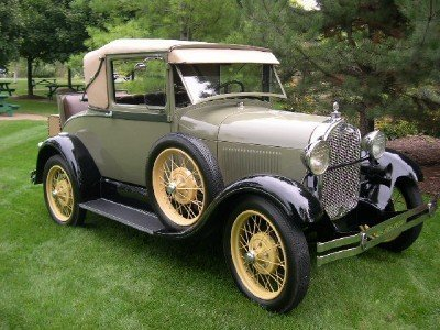 1929 Ford A Deluxe Sport Coupe