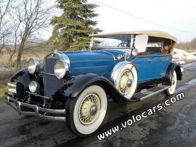 1929 Hudson Dual Cowl