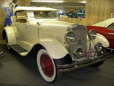 1928 Hudson Model S Sport Roadster