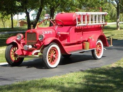 1925 Chevrolet American La France