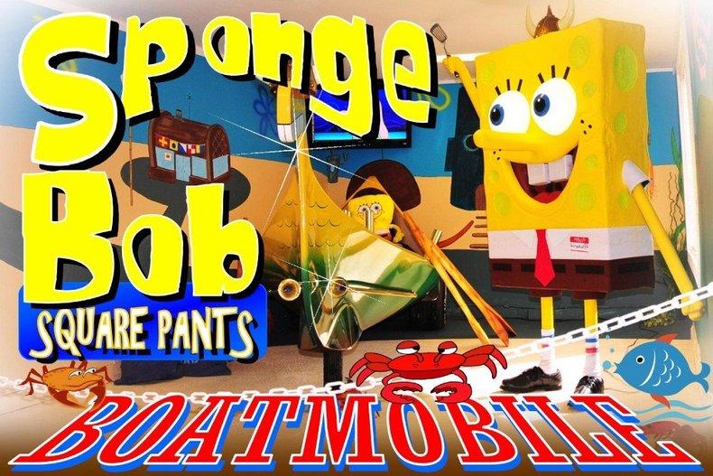 1975 Sponge Bob Boatmobile