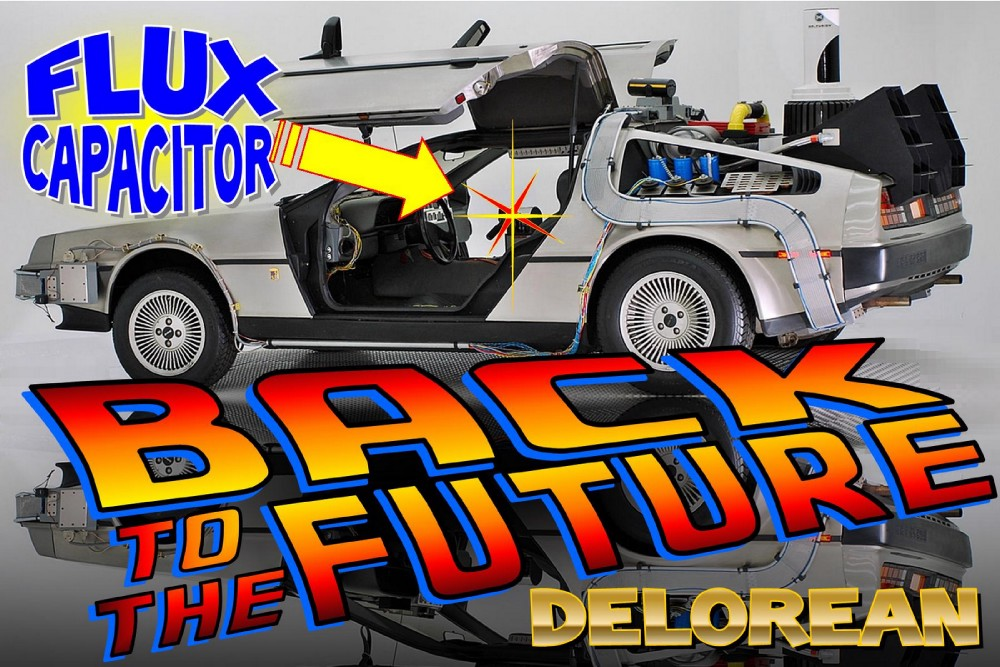 1984 DeLorean Time Machine