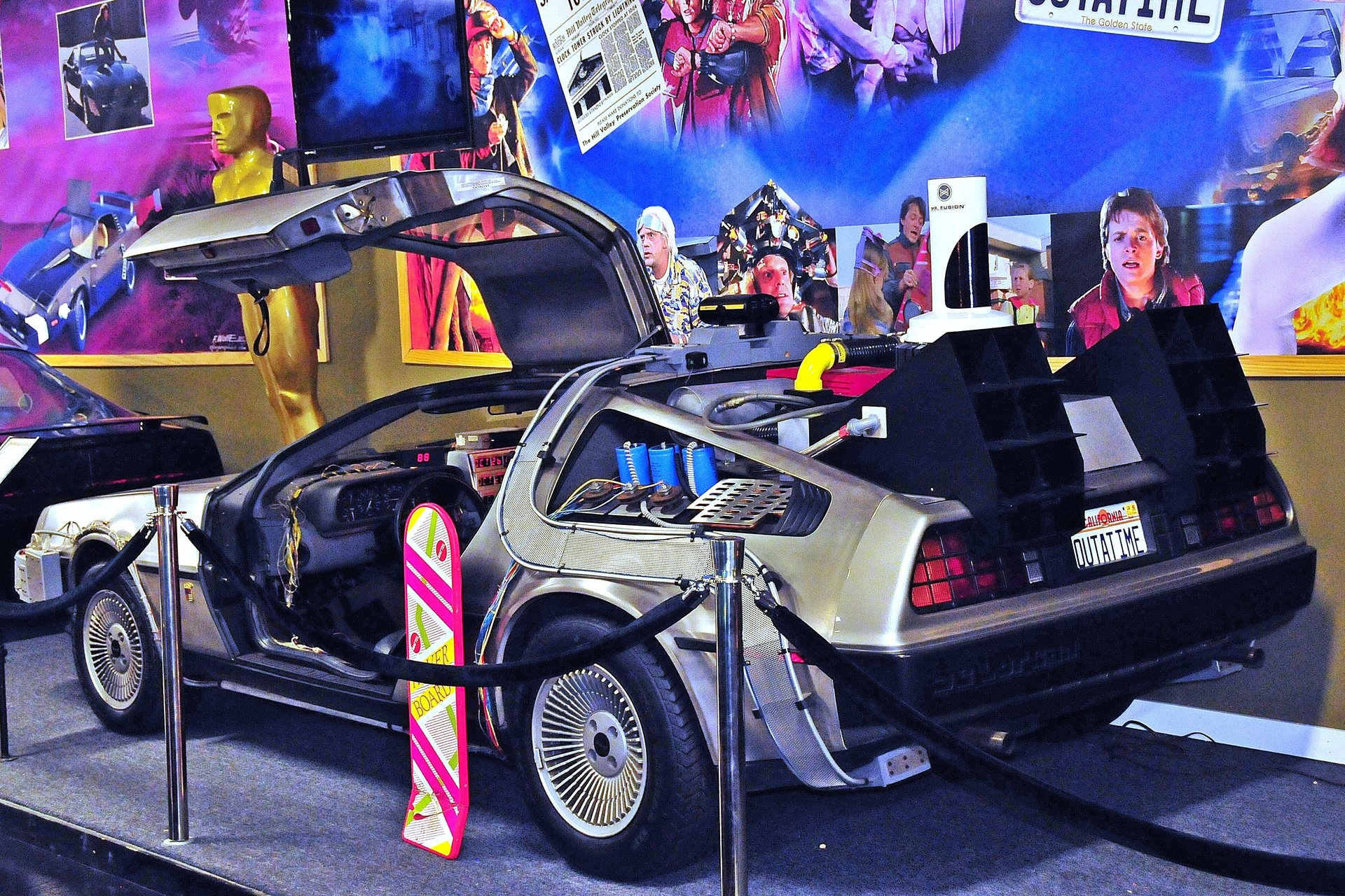 34463338be6e92 hd 1984 delorean time machine