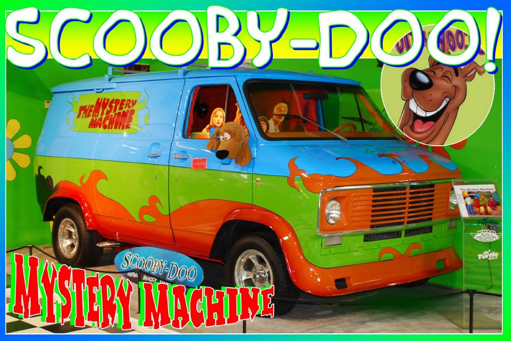 1976 GMC Mystery Machine