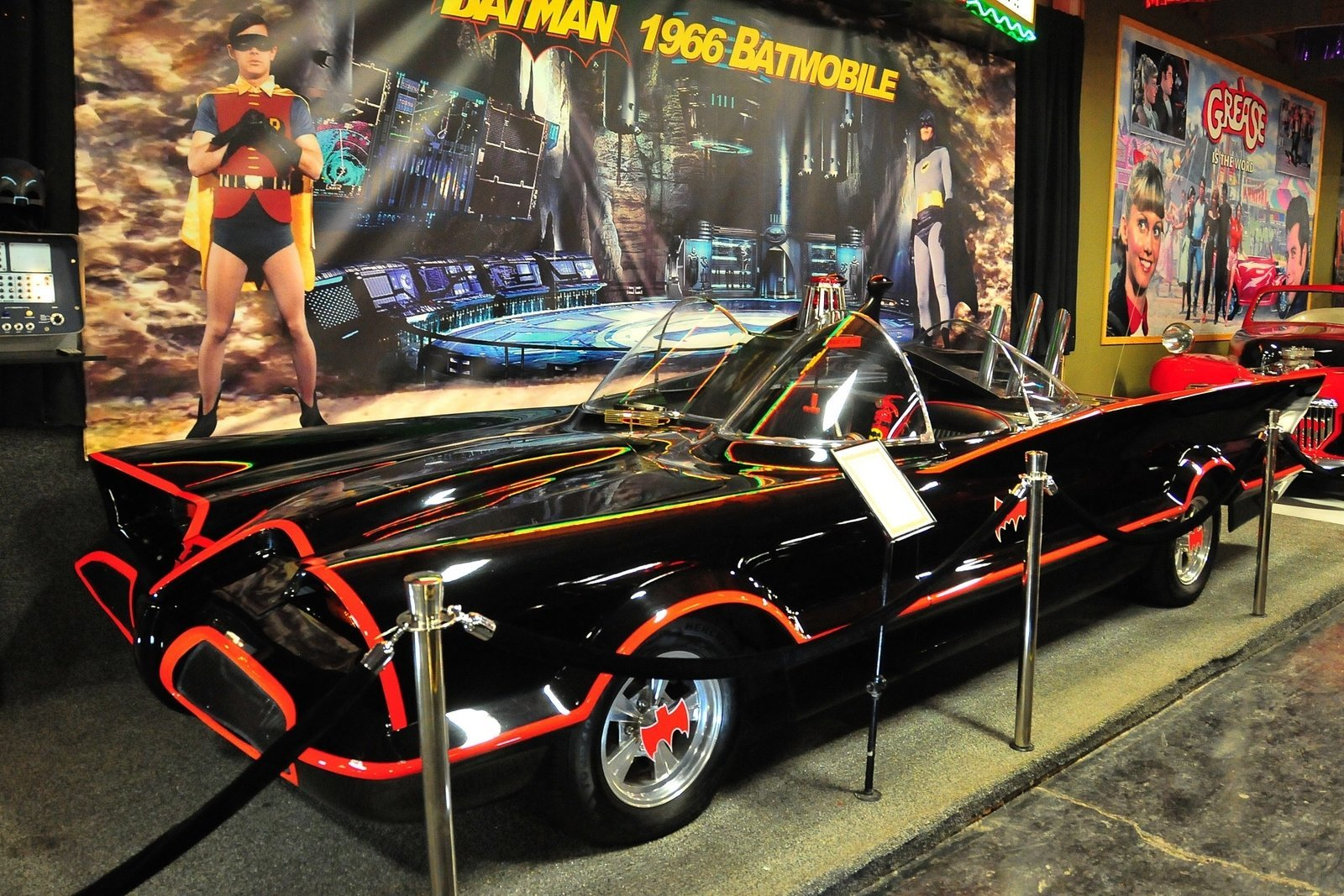 1966 batmobile adam west volo auto museum. Black Bedroom Furniture Sets. Home Design Ideas