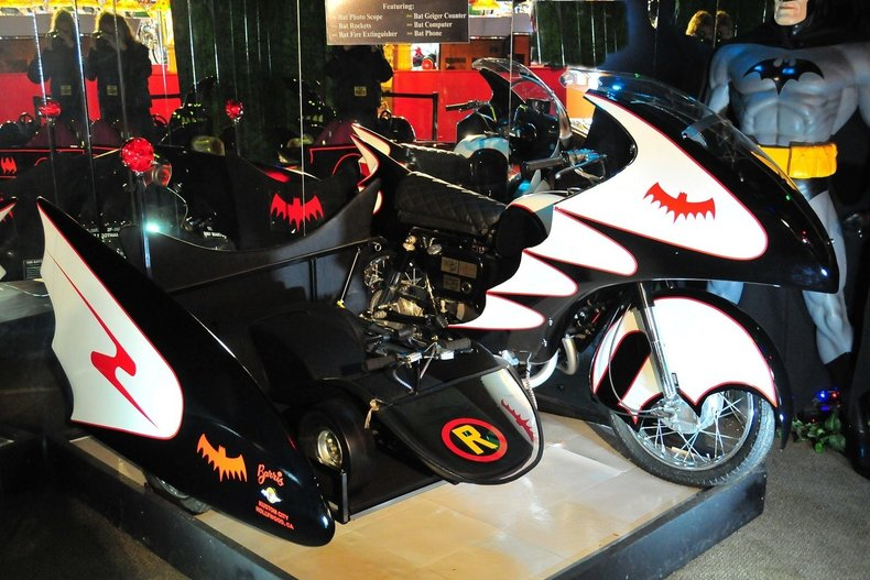 1966 batcycle adam west
