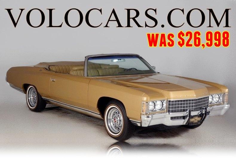 1971 chevrolet impala volo auto museum. Black Bedroom Furniture Sets. Home Design Ideas