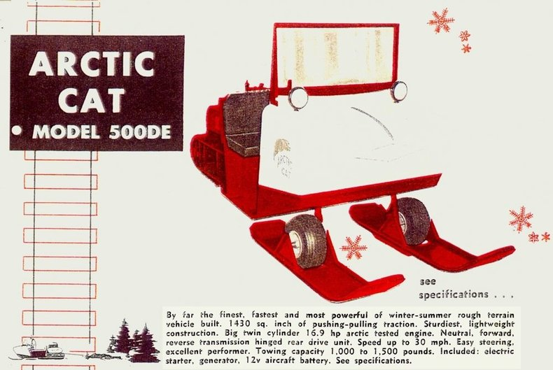 1965 Arctic Cat 500 D E