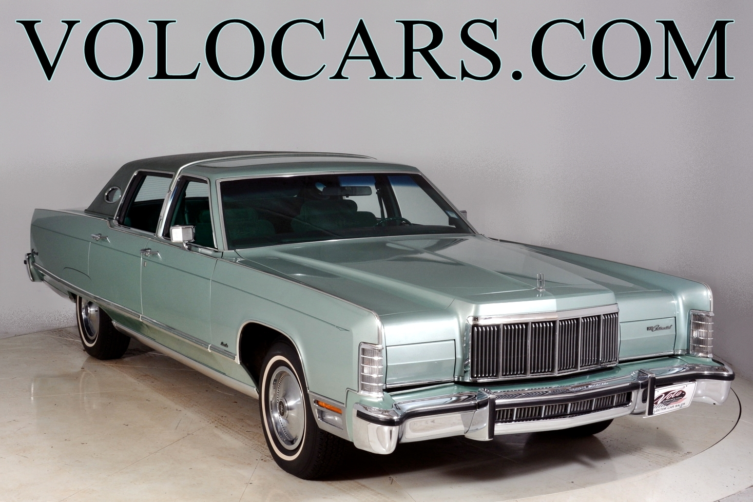 1976 lincoln continental volo auto museum. Black Bedroom Furniture Sets. Home Design Ideas