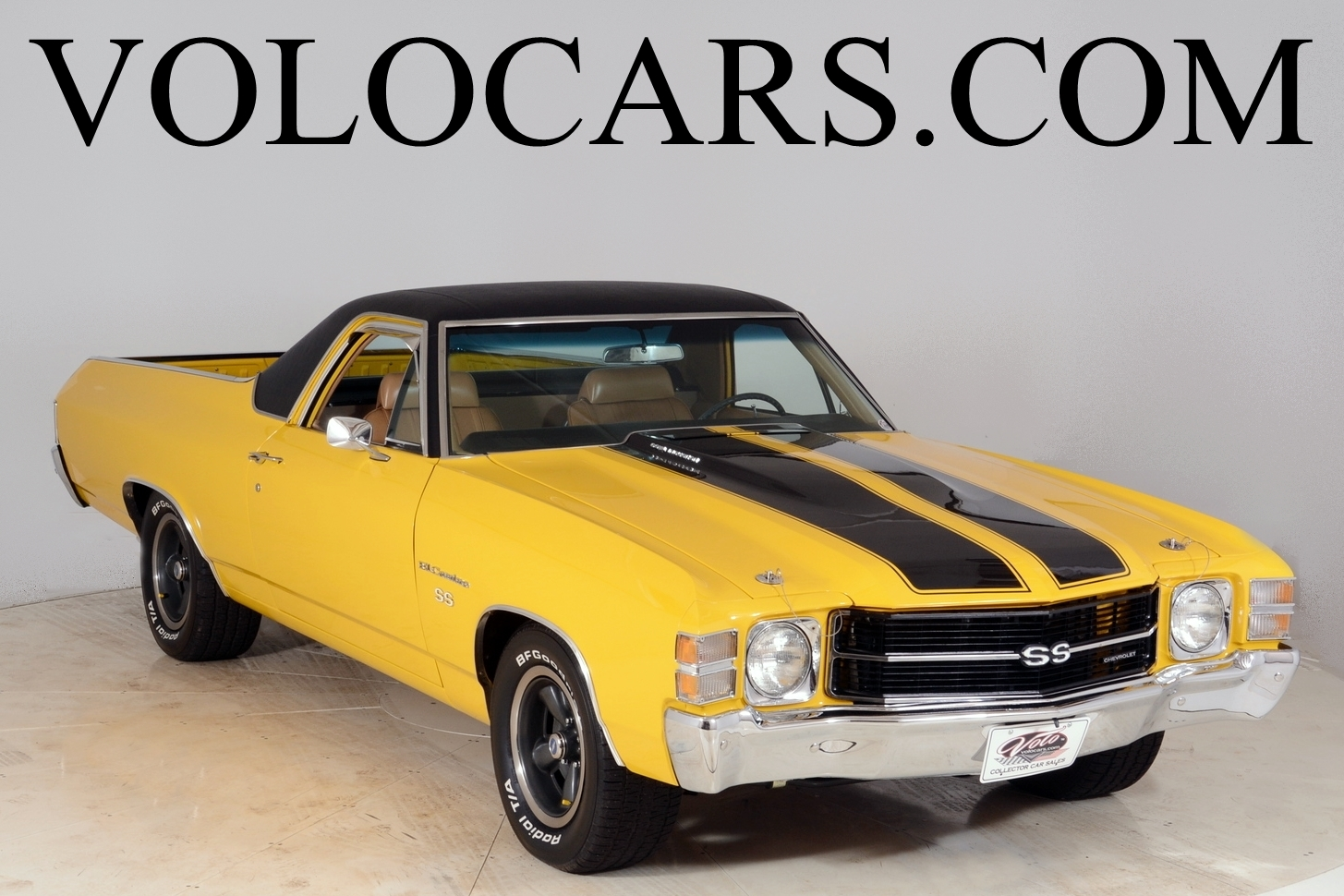 1972 chevrolet el camino volo auto museum. Black Bedroom Furniture Sets. Home Design Ideas