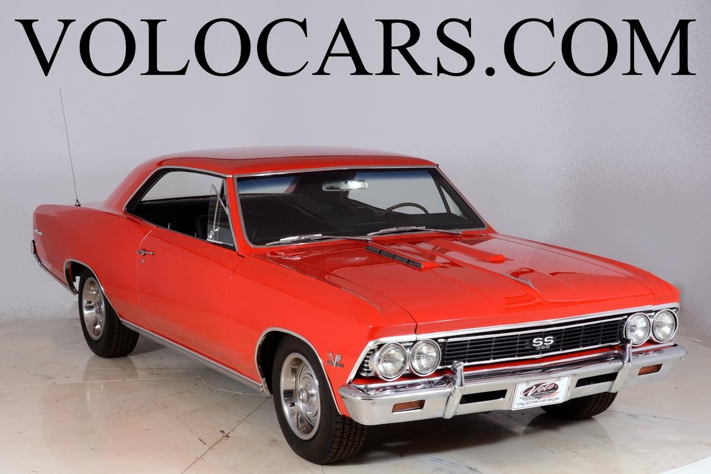 1966 Chevrolet Chevelle Volo Auto Museum Ss 396