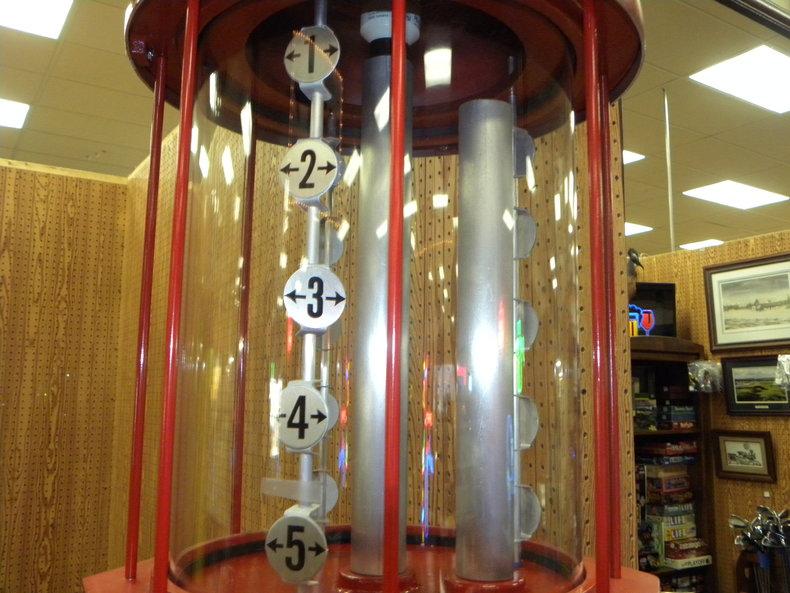 1950 Visible Gas Pumps Gilmore Repro