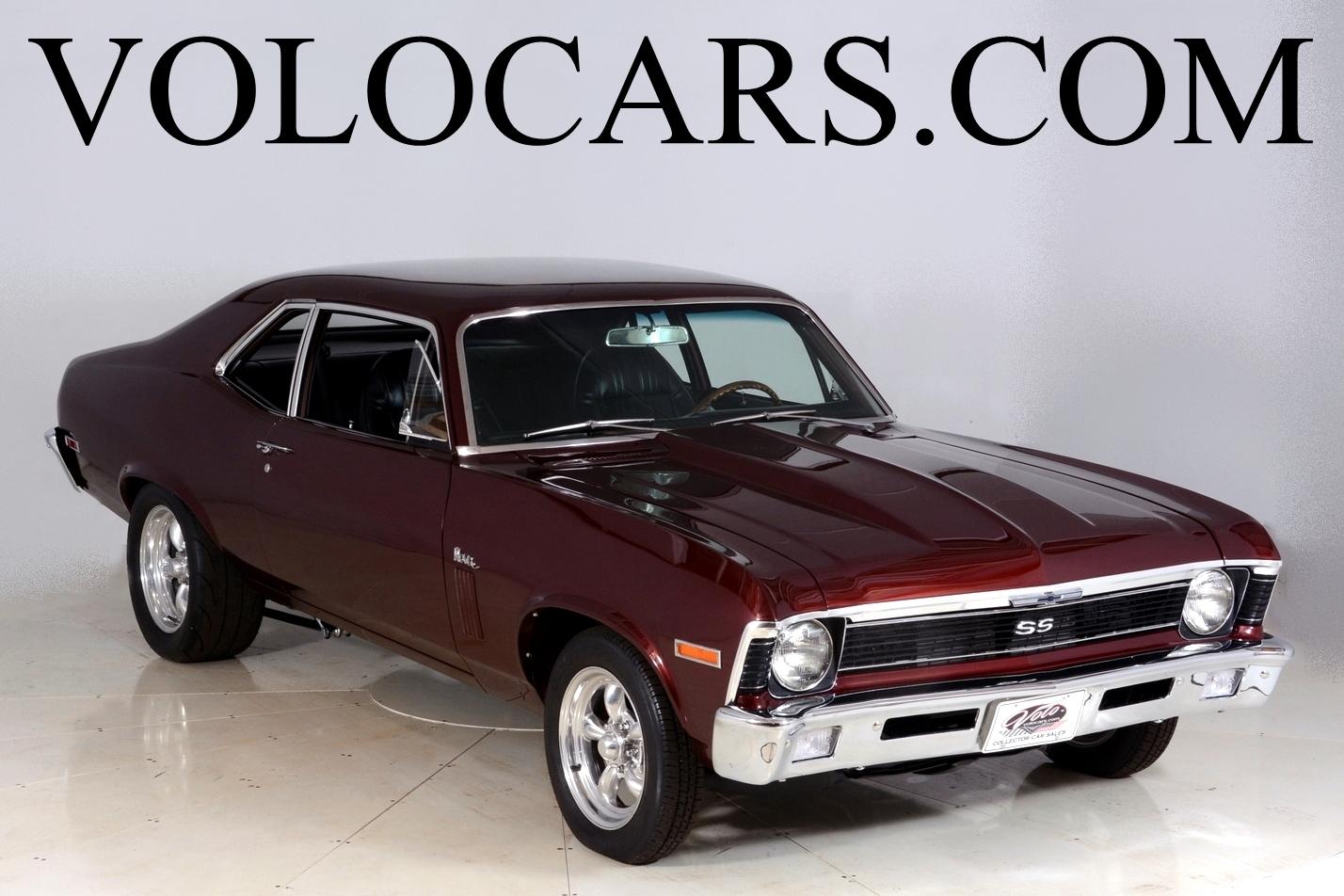 All Chevy black chevy nova ss : 1970 Chevrolet Nova   Volo Auto Museum