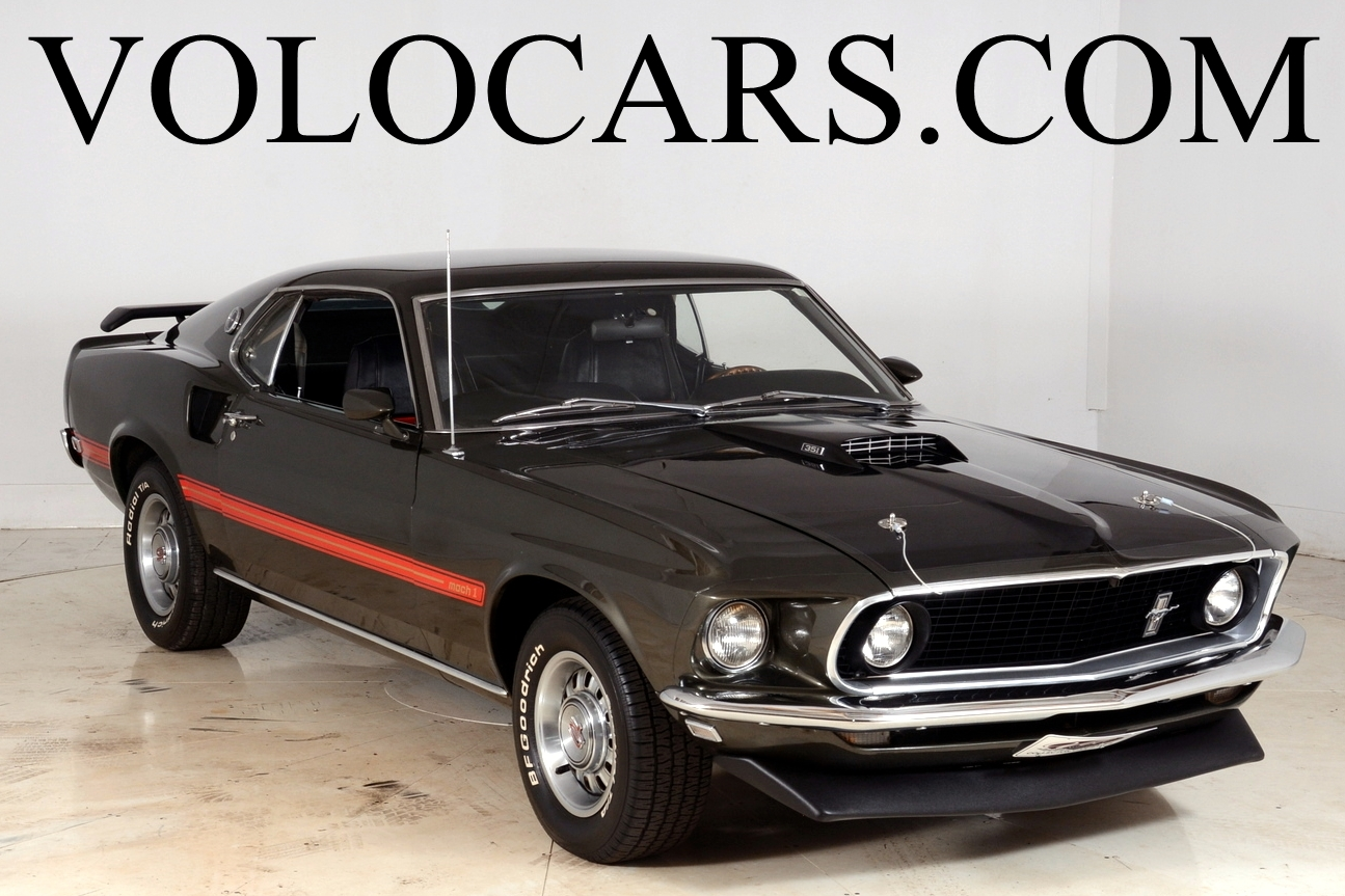 1969 Ford Mustang Volo Auto Museum Mach 2 Fastback