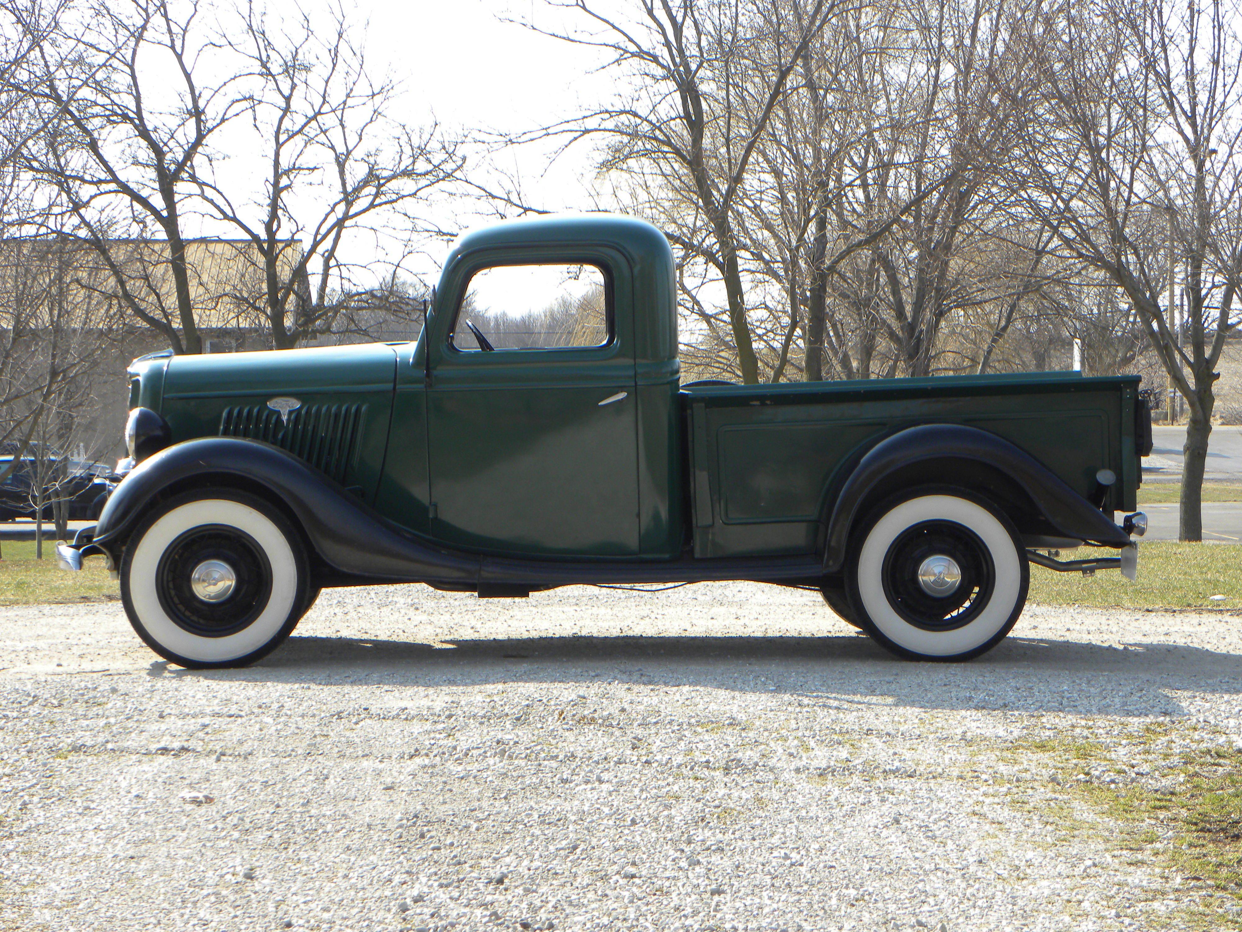 1935 ford 1 2 ton volo auto museum. Black Bedroom Furniture Sets. Home Design Ideas