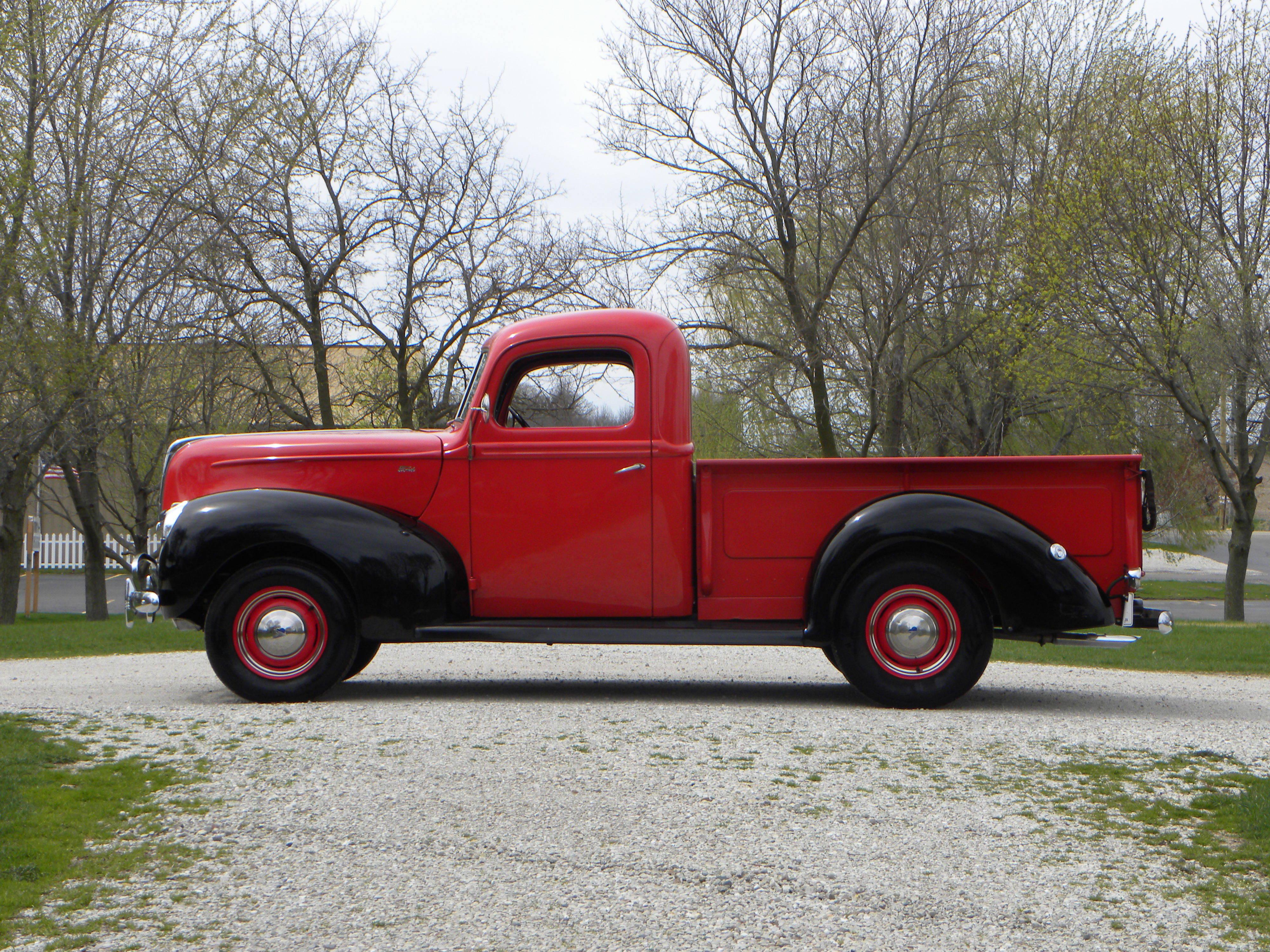1940 Ford 1/2 Ton   Volo Auto Museum