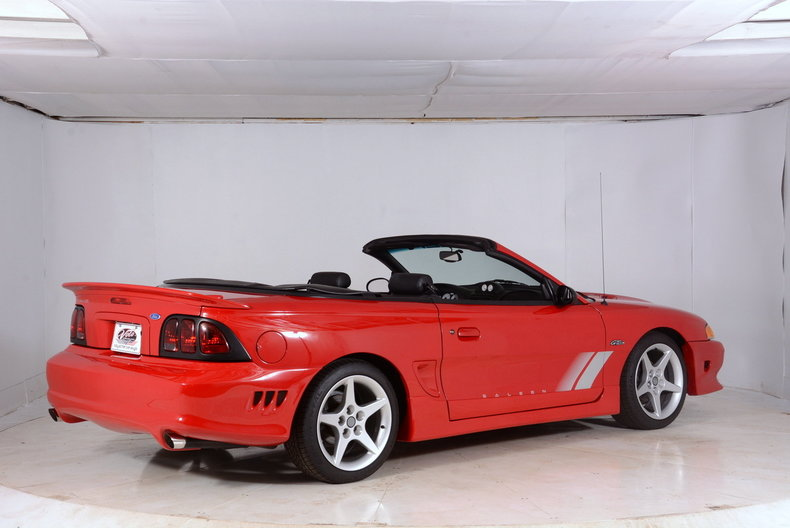 1997 ford mustang saleen for sale 57903 mcg. Black Bedroom Furniture Sets. Home Design Ideas