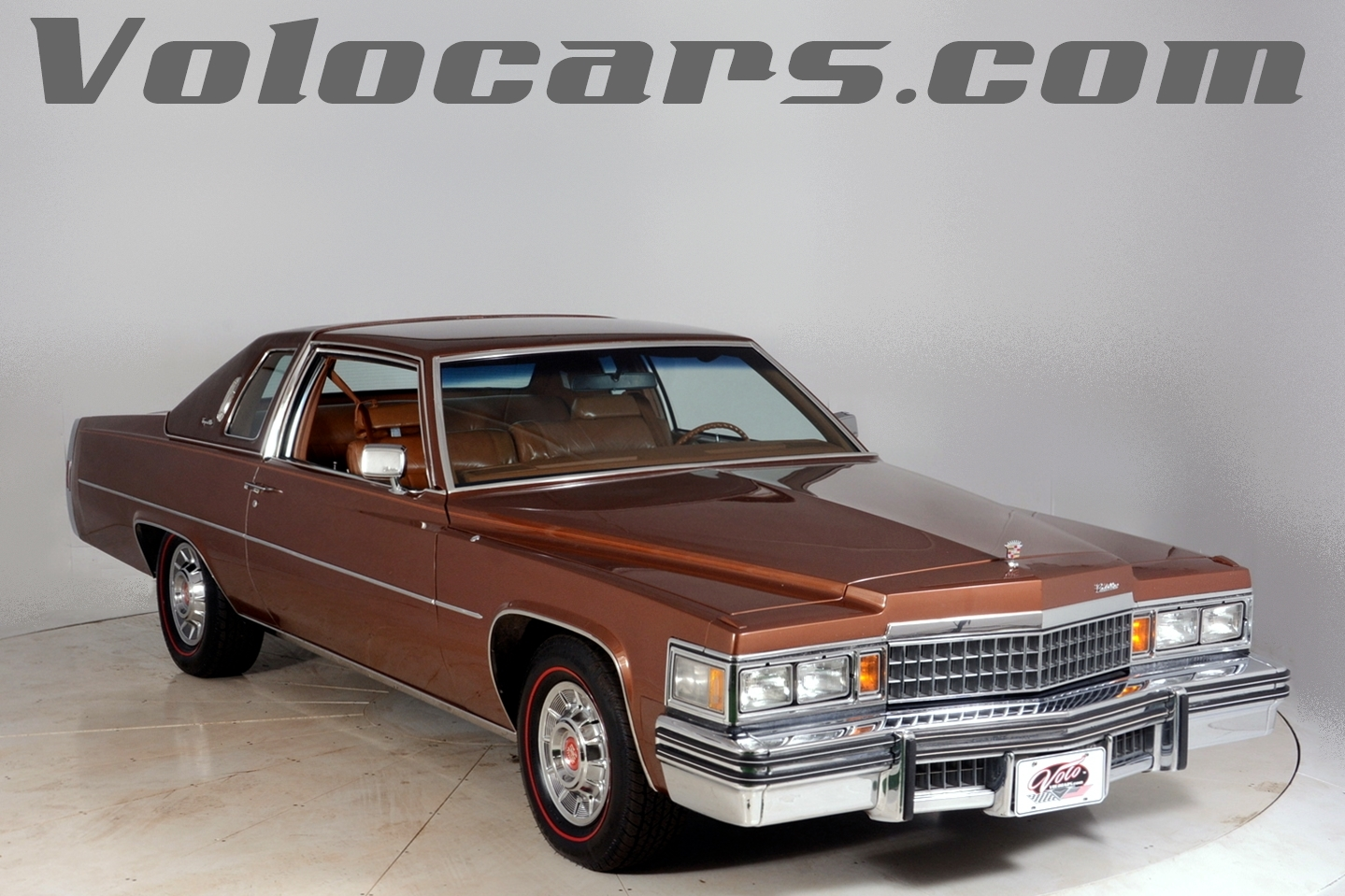 1978 cadillac coupe deville volo auto museum. Black Bedroom Furniture Sets. Home Design Ideas