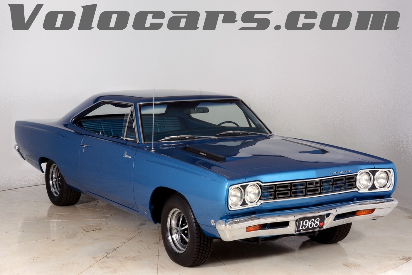 1968 plymouth road runner volo auto museum. Black Bedroom Furniture Sets. Home Design Ideas