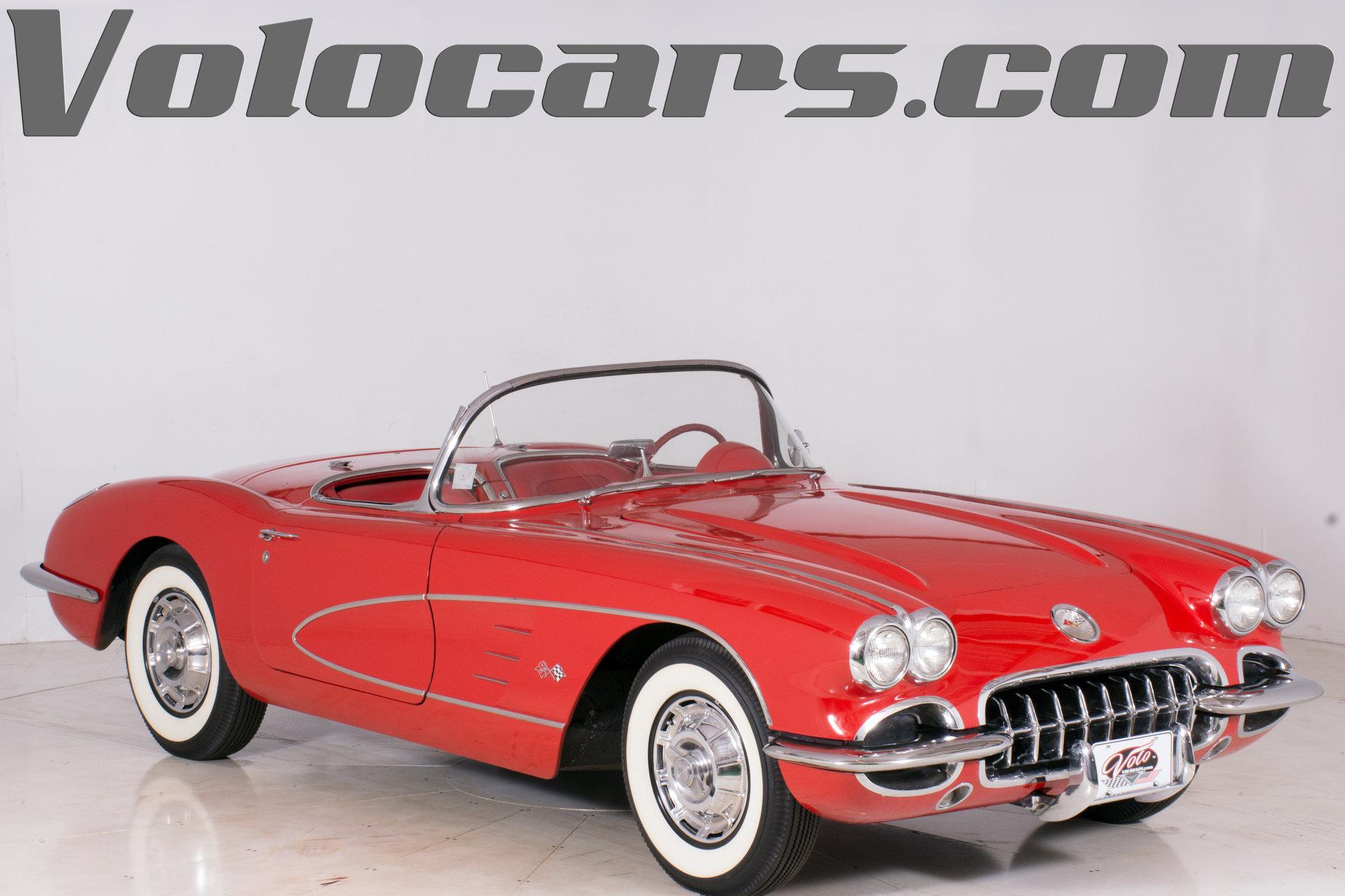 1959 chevrolet corvette volo auto museum rh volocars com 57 Corvette 61 Corvette