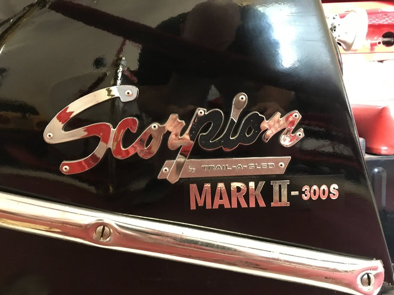 1968 Scorpion Mark II Snowmobile