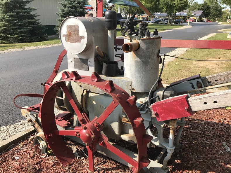 1930's Red E Pioneer Tractor