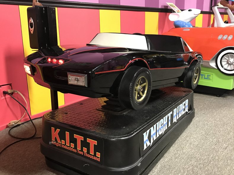 Knight Rider KITT Kiddie Ride