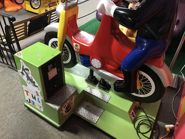 Tom and Jerry Motorcycle Kiddie Ride