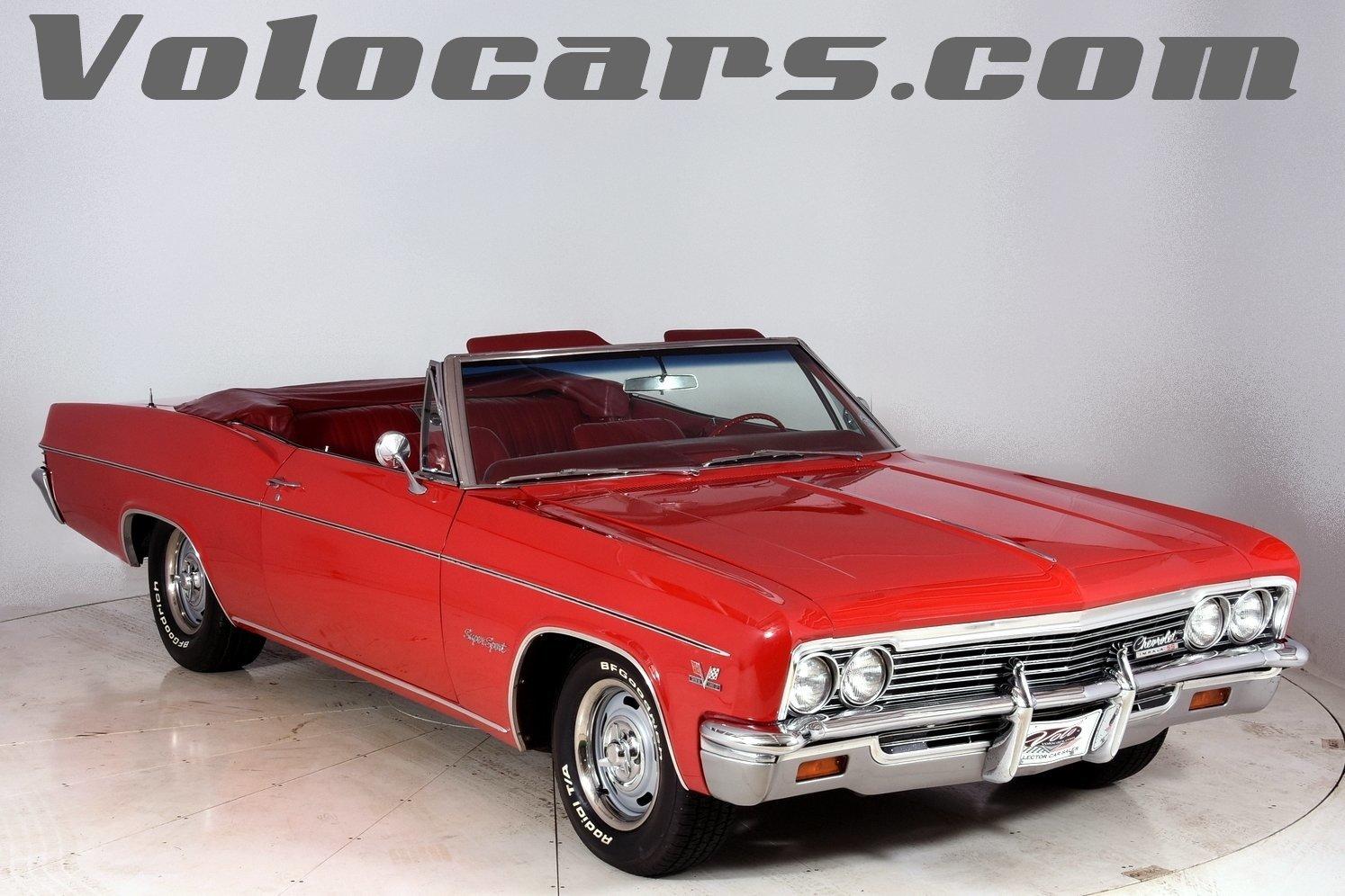 1966 Chevrolet Impala Volo Auto Museum Chevy Frame
