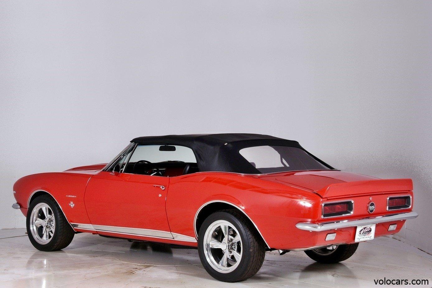 1967 chevrolet camaro volo auto museum. Black Bedroom Furniture Sets. Home Design Ideas