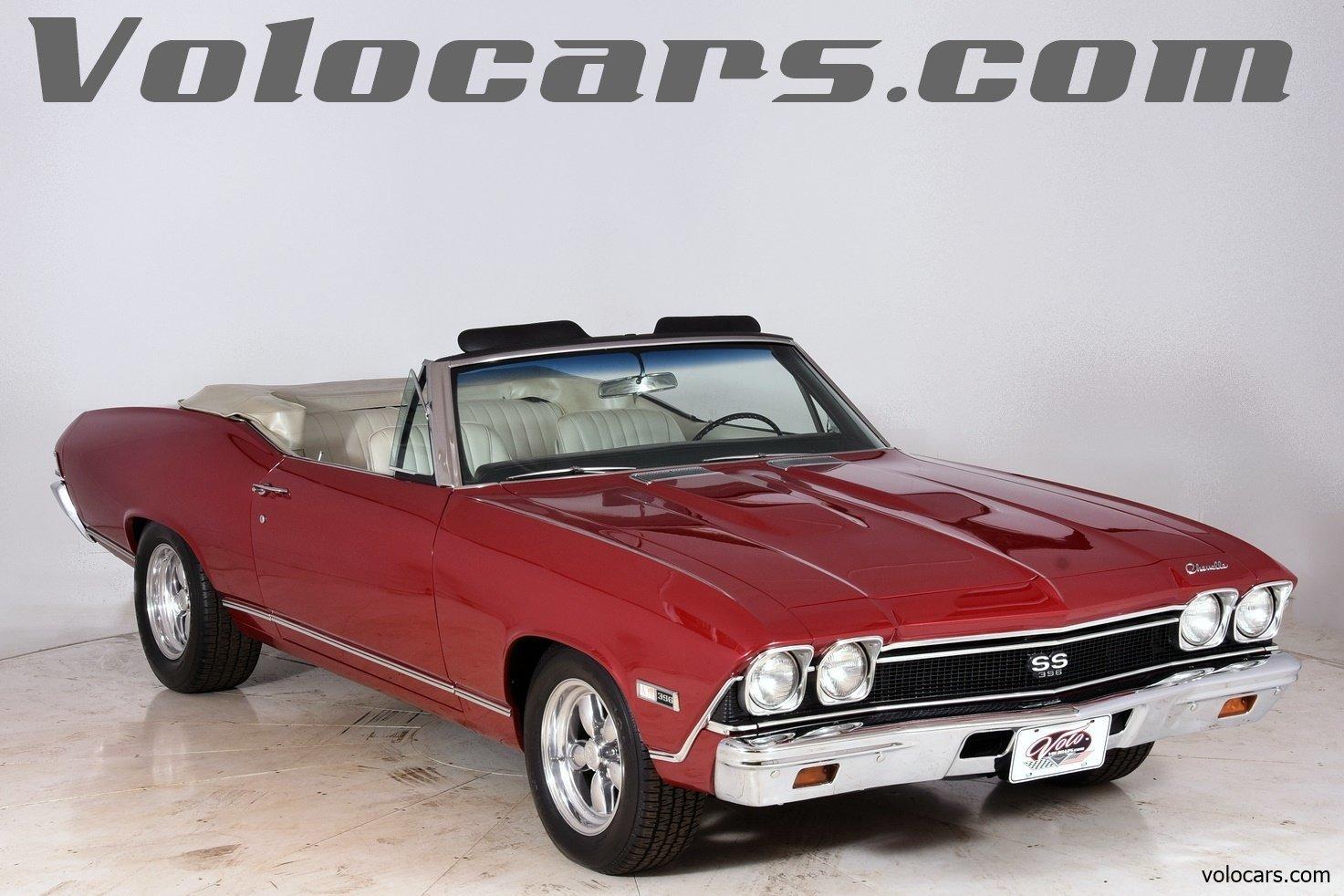 All Chevy 1968 chevrolet chevelle : 1968 Chevrolet Chevelle   Volo Auto Museum