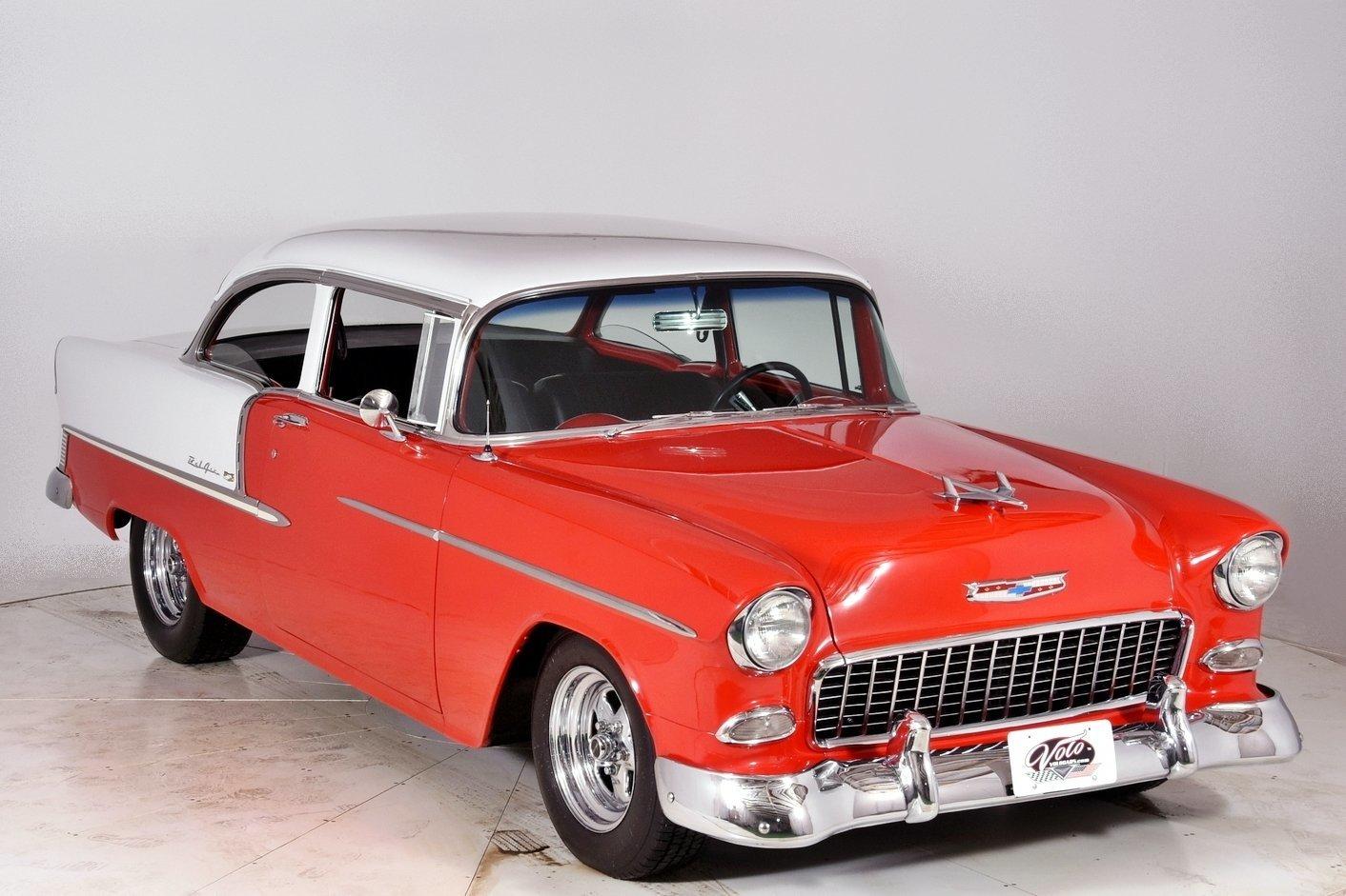 1955 chevrolet bel air for sale 76405 mcg for Garage peugeot bouc bel air