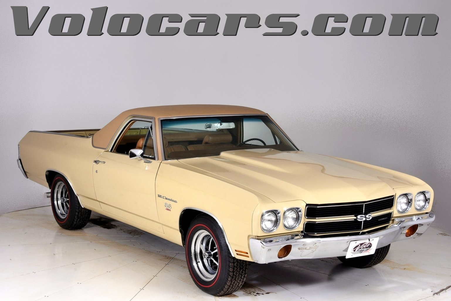 1970 chevrolet el camino volo auto museum. Black Bedroom Furniture Sets. Home Design Ideas